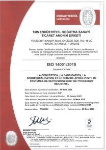 ISO14001 UKAS-FR