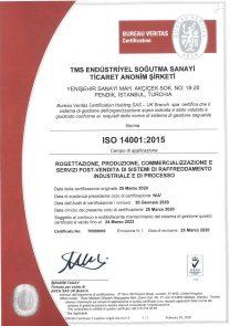ISO14001 UKAS-ITALY
