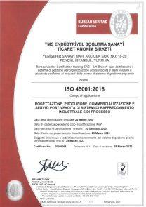 ISO45001 UKAS-ITALY