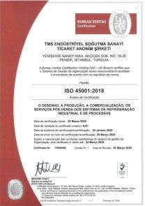 ISO45001 UKAS-PORTEKİZCE