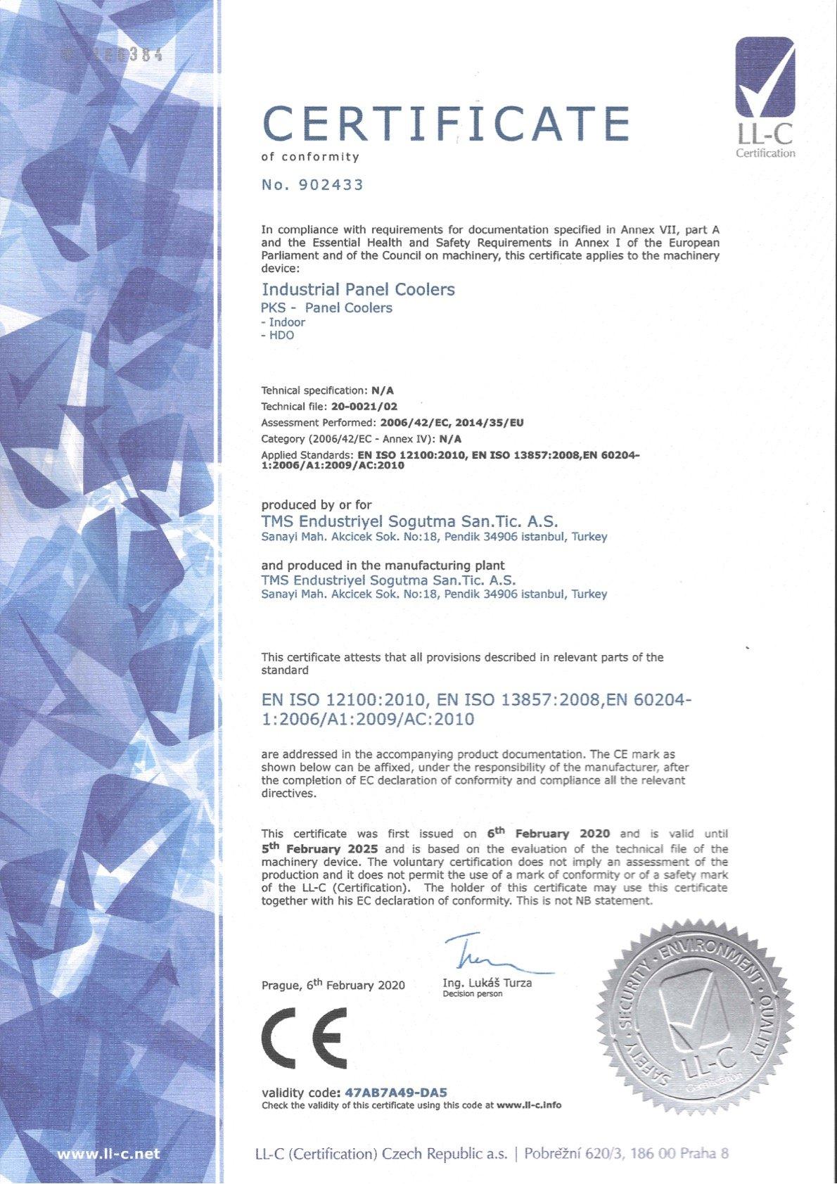 PKS_Certificate